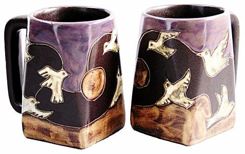 12 oz. Mara Mug – Doves