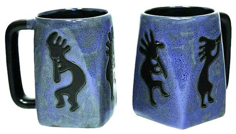 12 oz. Mara Mug – Kokopelli Blue