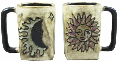 12 oz. Mara Mug – Sun/Moon – Tan