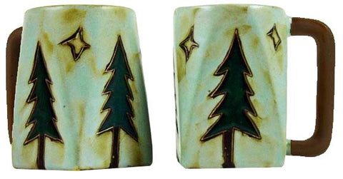 12 oz. Mara Mug – Pine Trees