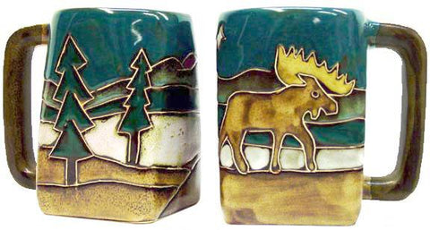 12 oz. Mara Mug – Moose
