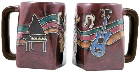 12 oz. Mara Mug – Musical Instruments