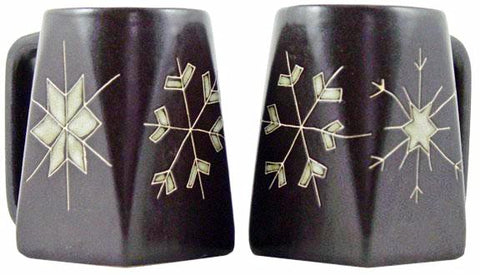 12 oz. Mara Mug – Snow Flakes