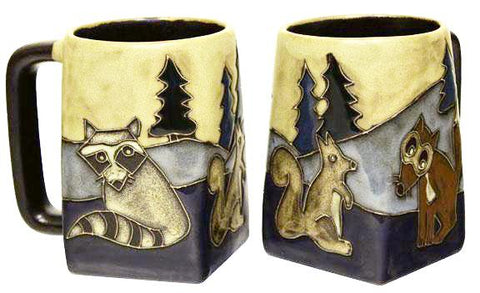 12 oz. Mara Mug – Forest Animals