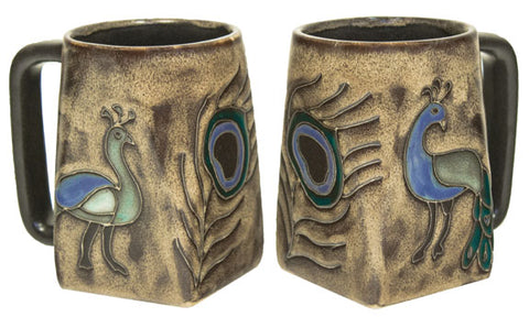 12 oz. Mara Mug – Peacock