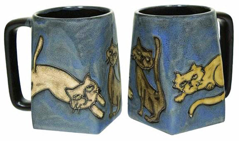 12 oz. Mara Mug – Playful Cats