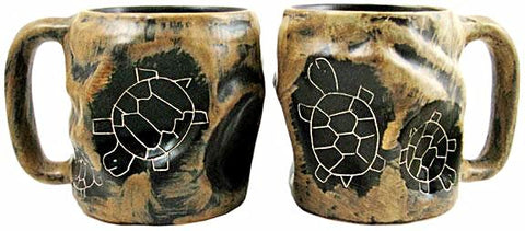20 oz. Rock Art Mara Mug – Turtle