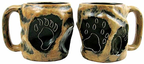 20 oz. Rock Art Mara Mug – Bear Paws