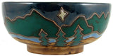 Mara Serving Bowls – Mountain/Trees – 24 oz. & 72 oz.