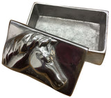 Horse Design Jewellery Box with Lid