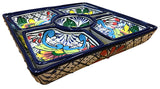 Talavera 6 Piece Square Serving Set