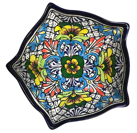 Talavera 5-Sided Serving Bowls