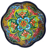 Talavera Scalloped Edge Serving Bowl