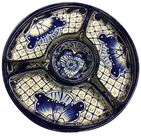 Talavera 5 Piece Round Serving Set