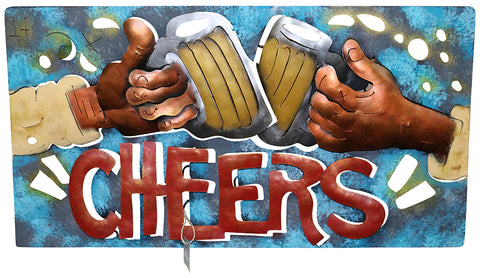 Metal Wall Art – Beer Mug Cheers
