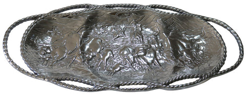 Stampede Cattle Serving Tray – Large