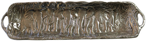Elephant Motif Baguette/Serving Tray