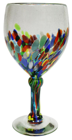 Wine Glass – Spotted to Clear