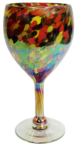 Wine Glass – Flame Gold