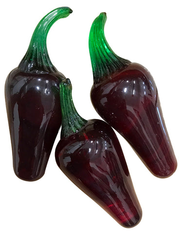Glass Peppers