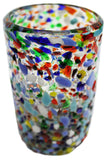 Water Glass – Multi Colour Pebbled
