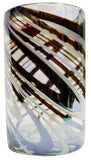 Water Glass – Metallic Swirl