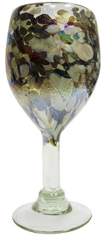 Wine Glass – Metallic Spot
