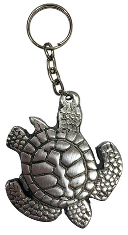 Pewter Turtle Key Chain