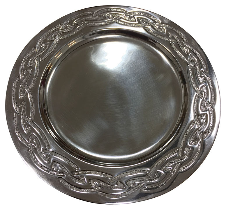 Pewter Charger Plates