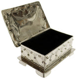 Alpaca Silver Jewellery Box – Small