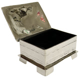 Alpaca Silver Jewellery Box – Rectangle Medium