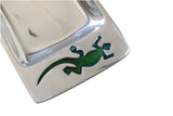 Gecko Serving Tray w/ Acrylic Inlay