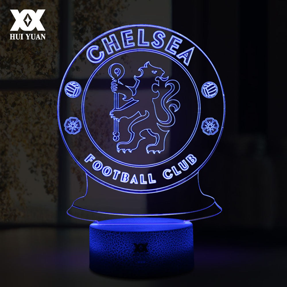 Led Football Led Lampe Chelsea Chelsea Football Lampe Club qGUMpSzV