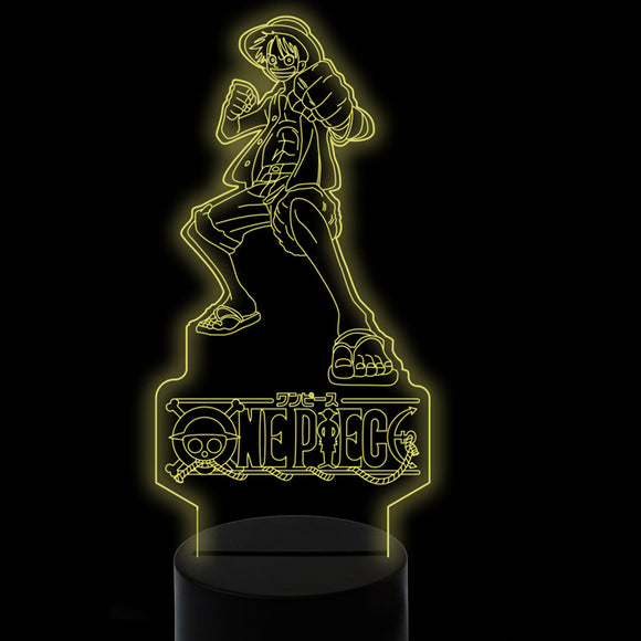 Lampe 3D One Piece Luffy