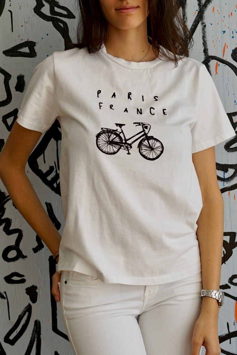 "Barrington ""Paris Bicycle"" Tee"