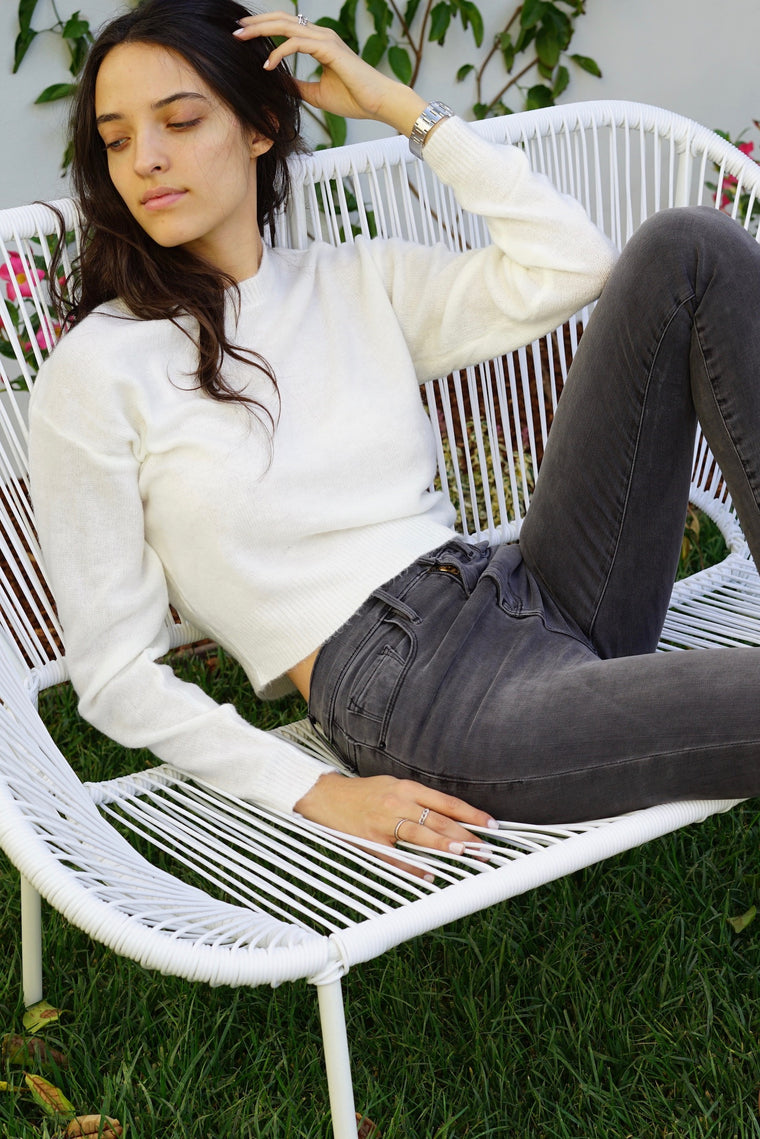 Classic Cozy Crop Sweater