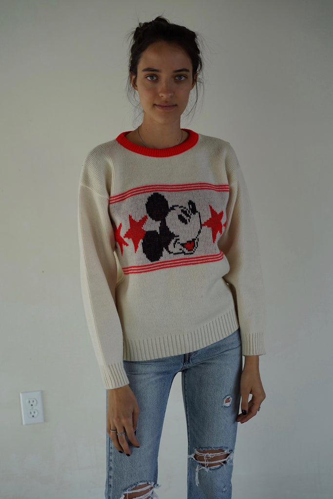 Mickey Knitted Sweater
