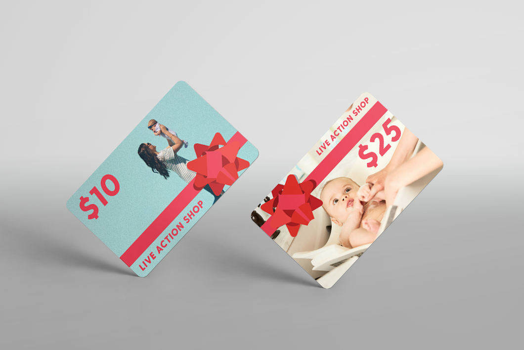 Live Action Shop Digital Gift Card