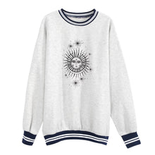 Load image into Gallery viewer, Sun Star Oversized Sweatshirt - Bare Terre