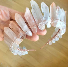 Load image into Gallery viewer, Mystical Quartz Tiara - Bare Terre