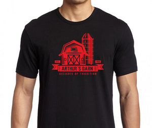 Arthur's Barn Decades of Tradition T-Shirt, Limited Edition