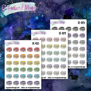 book planner stickers