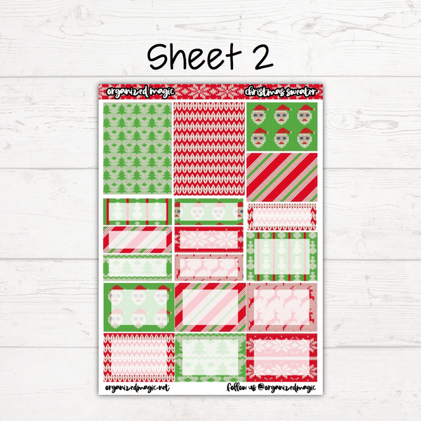Christmas Sweater Deluxe Weekly Kit