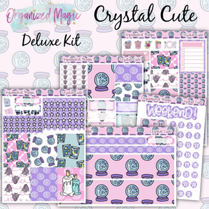 Crystal Cute Deluxe weekly planner sticker kit