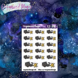 Flying Jinx Planner Stickers