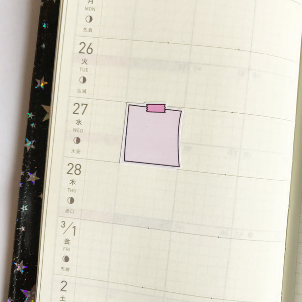 Mini Doodle Notes for the Hobonichi Weeks