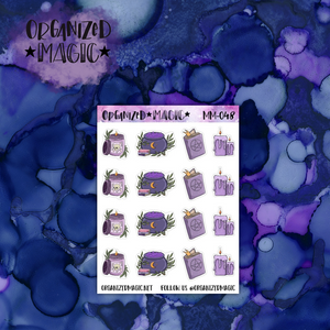 Magick Mix planner stickers