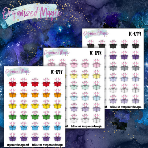 package icon planner stickers