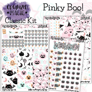 Pinky Boo! Classic weekly planner sticker kit