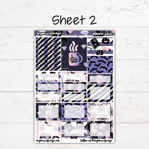 Planner Witch Deluxe Weekly Kit
